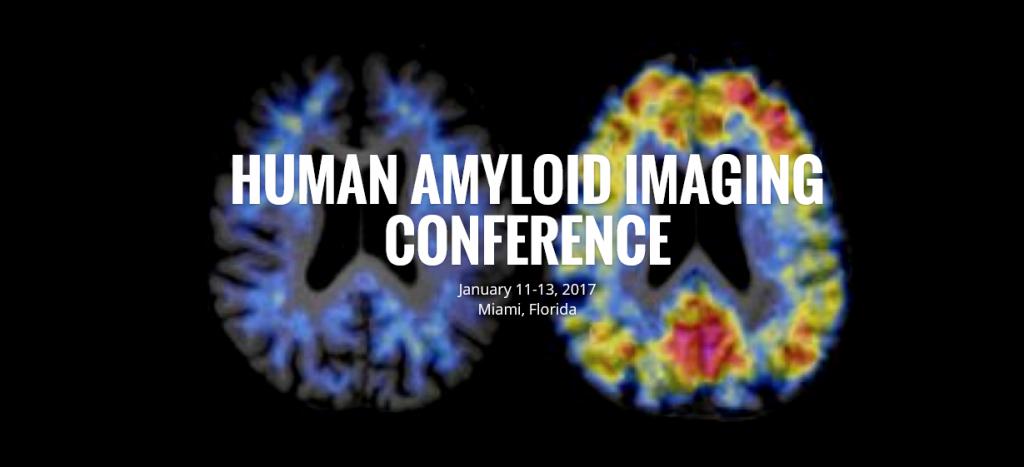 AMYPAD poster presentation in Florida