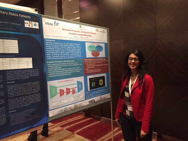 Presentation at The Lancet Neurology Conference in London