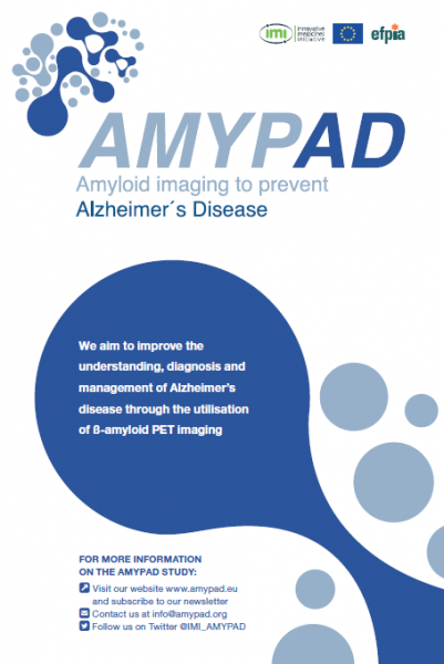 AMYPAD publishes its flyer