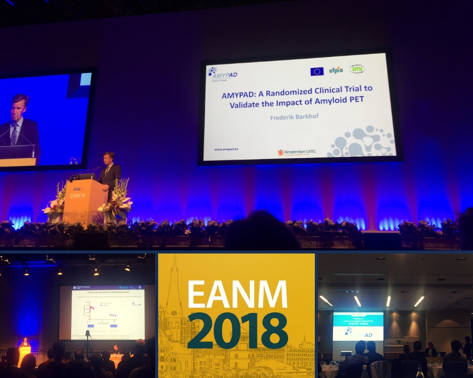AMYPAD presents at the 31st annual EANM congress