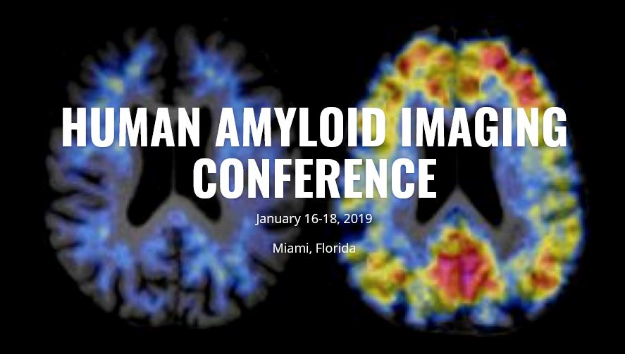 AMYPAD presents at the 13th Human Amyloid Imaging Conference