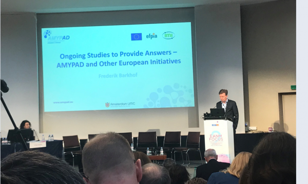 AMYPAD features at EANM Focus 2 meeting