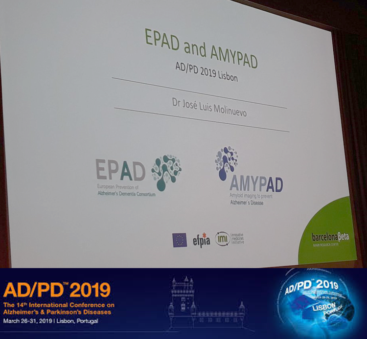 AMYPAD presented at the AD/PD conference