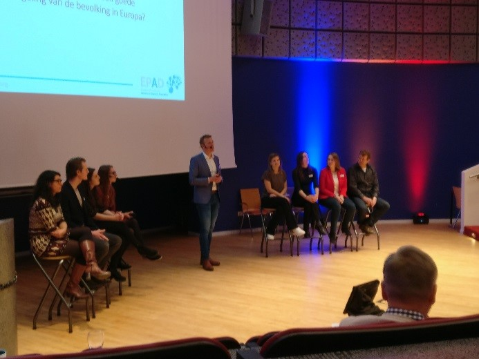 AMYPAD presented at the EPAD participant day in Amsterdam