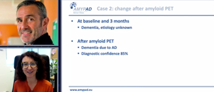 AMYPAD study cases presented at SNMMI 2021