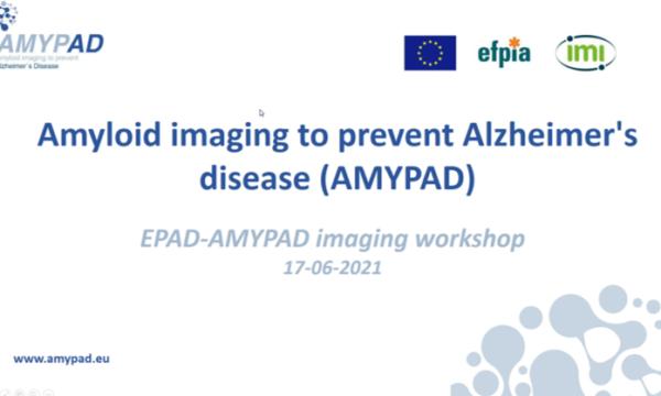 EPAD-AMYPAD imaging workshop